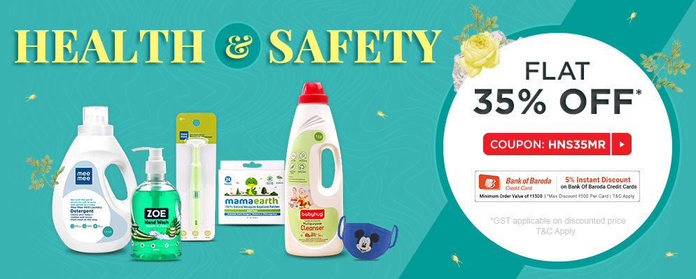 firstcry.com - 35% OFF on Health and Safety Range