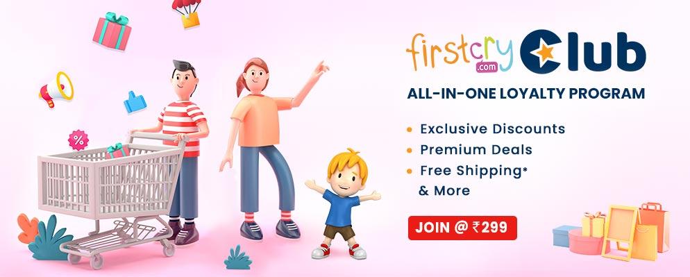 firstcry.com - Firstcry Club 3 Moths Membership @ just ₹299