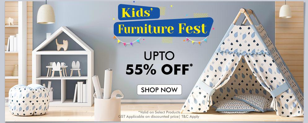 firstcry.com - Get Upto 55% Discount on Kids Furniture