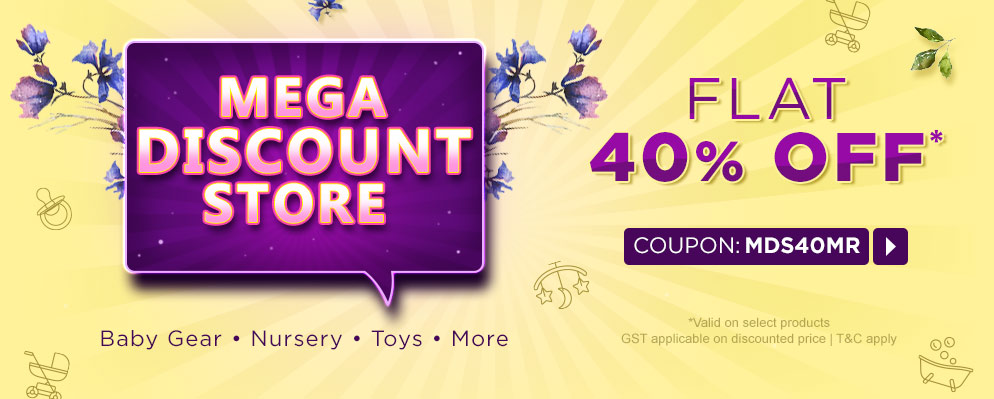 firstcry.com - Get Flat 40% Discount on Select Range