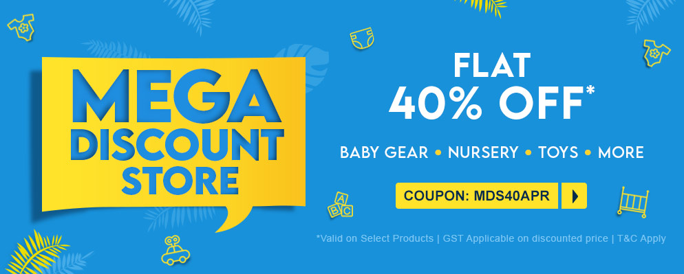 Coupons and Offers for FirstCry - 40% off on Selected Store Range