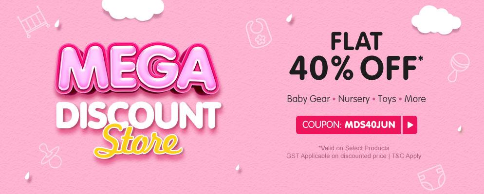 firstcry.com - Flat 40% discount on Select Range