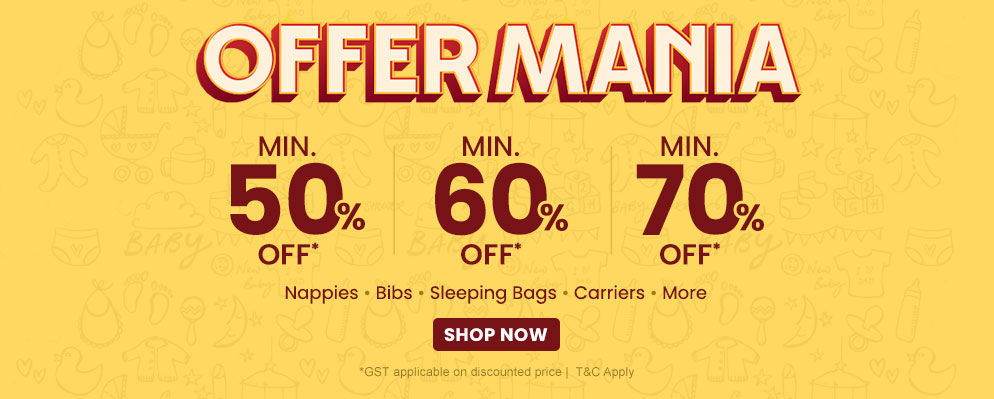 Coupons and Offers for FirstCry - Get Up to 70% Discount on Baby Car Seats, Baby Carriers and more