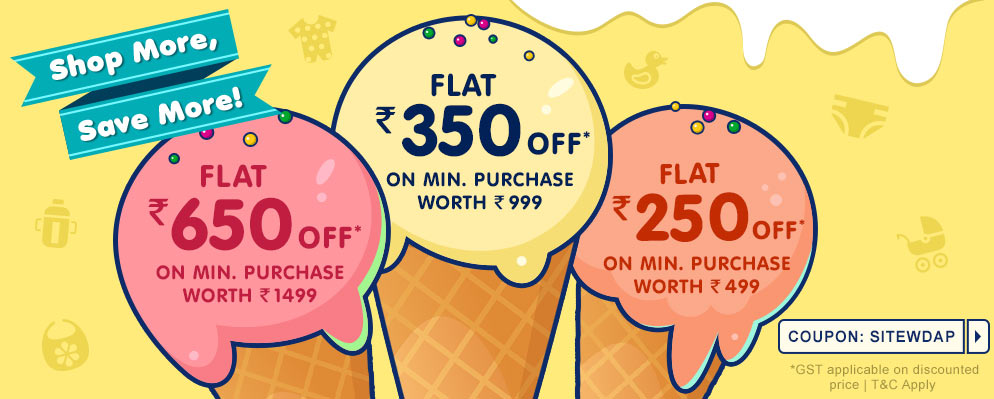 Coupons and Offers for FirstCry - Up To ₹650 Off on all products