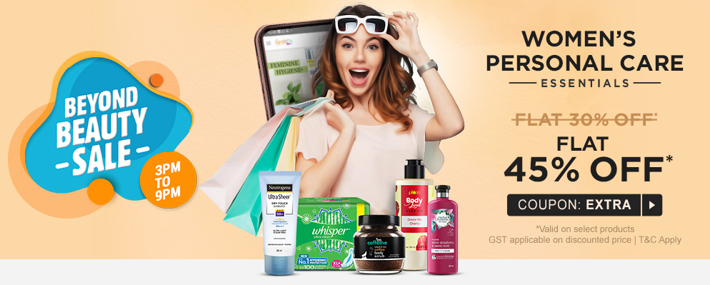 firstcry.com - 45% OFF on Women's Personal Care Products