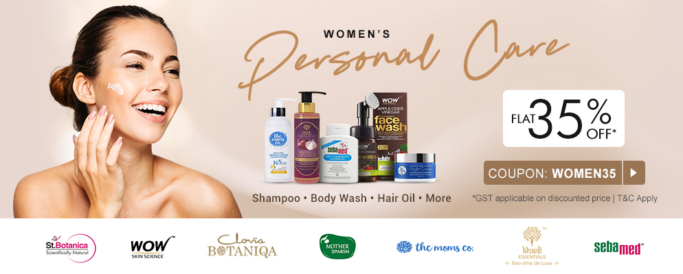 firstcry.com - Flat 35% Discount on Select Women's Care Categories