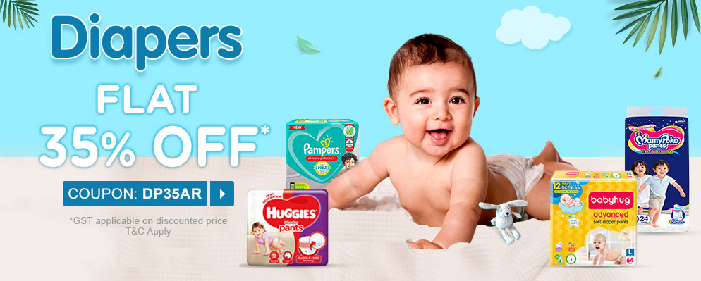 firstcry.com - 35% off on Diapers