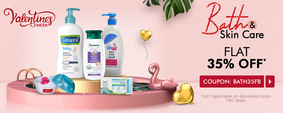 firstcry.com - Get 35% off on Bath and Skin Care Products