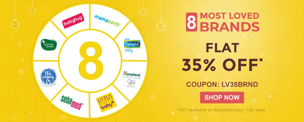 firstcry.com - 35% off on Select Brand Baby Care