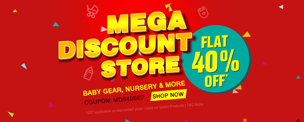 firstcry.com - Avail Flat 40% off on Select Range