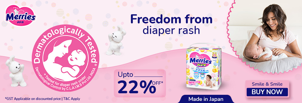 firstcry.com - Get Up to 22% off on Merries Diapers