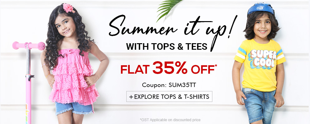 firstcry.com - Get 35% Discount on Selected Fashion Range