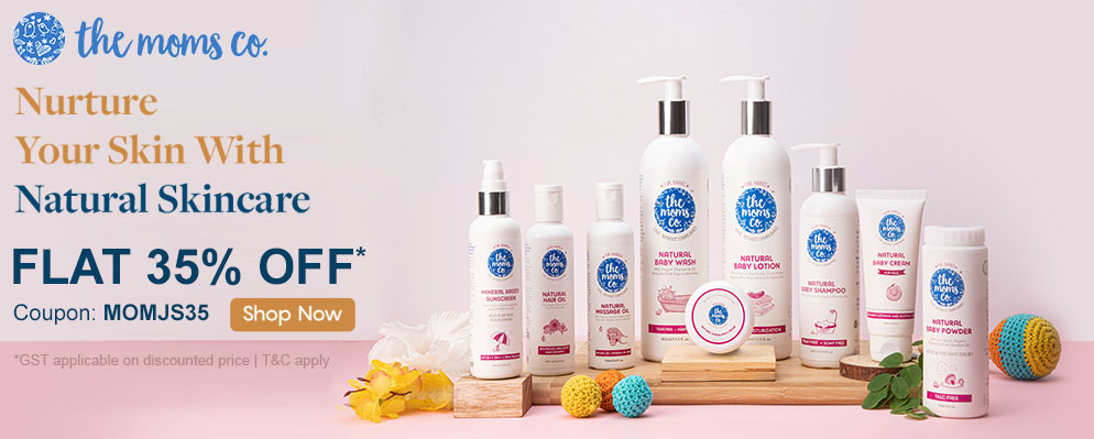 Firstcry Offers & Discount Sale - 35% Off on Moms-co Skin Care
