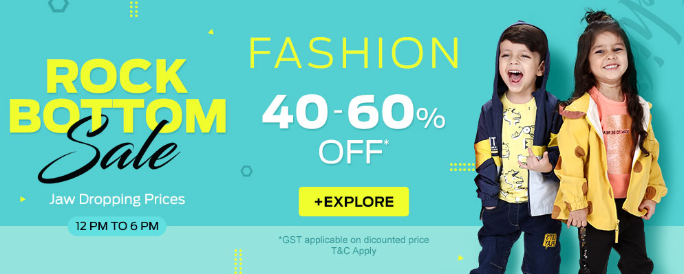 firstcry.com - Get Upto 60% OFF on Kids Fashion