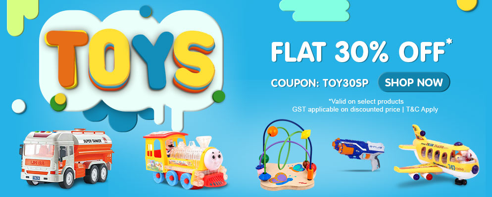 firstcry.com - Get Flat 30% Discount on Toys Range