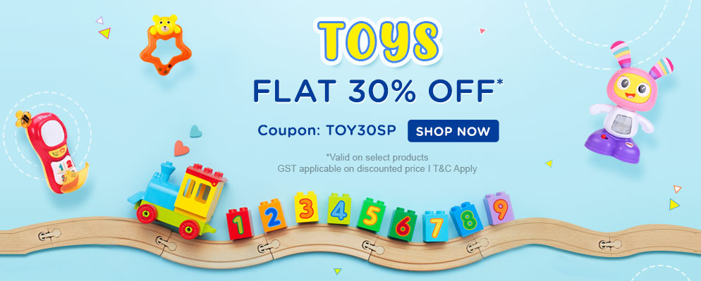 firstcry.com - Get 30% Off on Toys Range