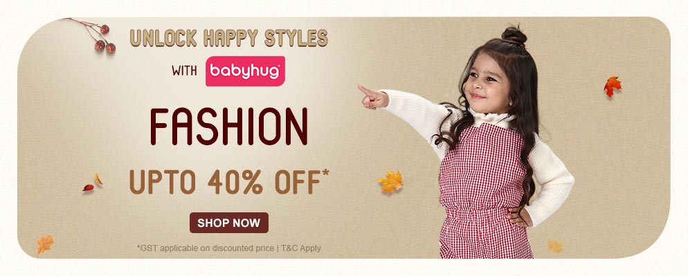 firstcry.com - Flat 40% off on Babyhug Fashion