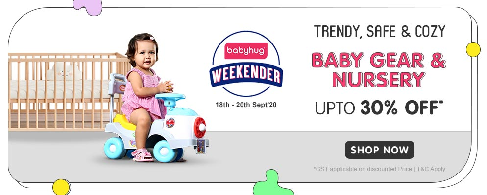 firstcry.com - Babyhug Weekender – Get Up to 30% Off on Best Seller Baby Gear