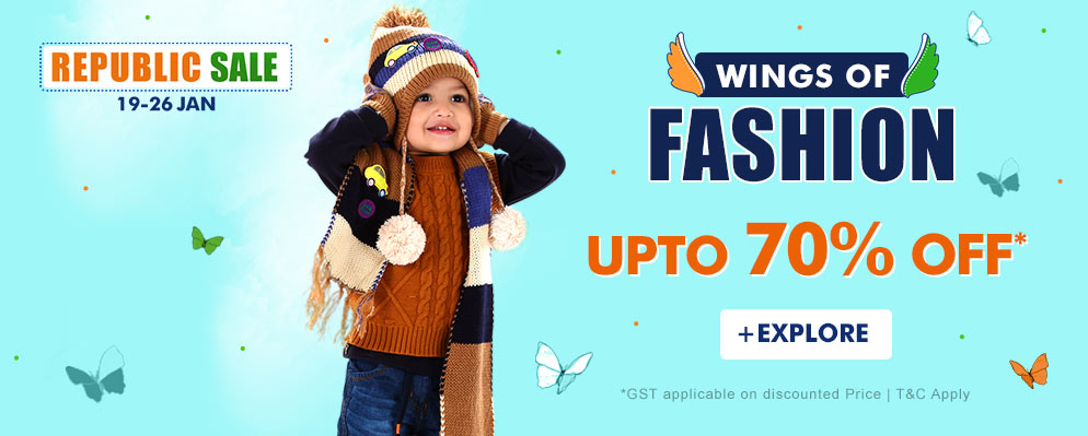 firstcry.com - Get Up To 70% Off on Kids Fashion