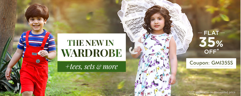 firstcry.com - Get Flat 35% Off on Selected Kids Fashion