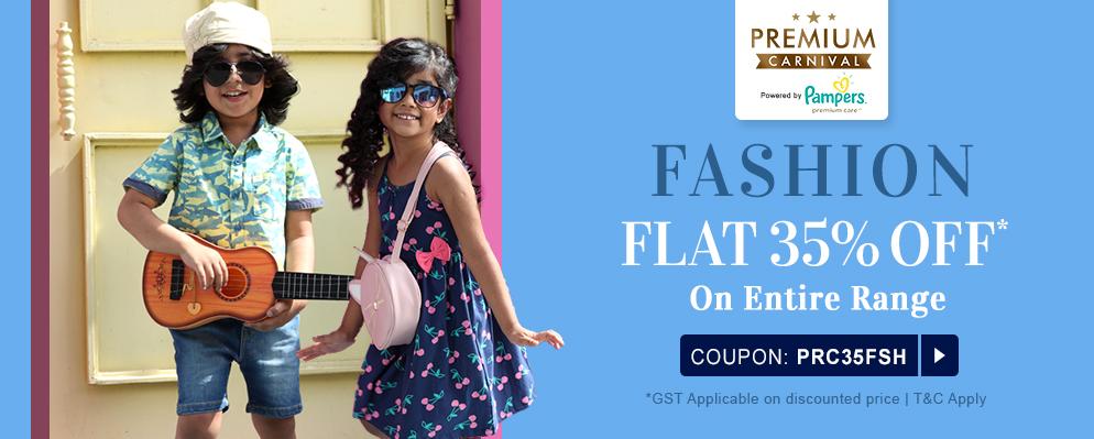 firstcry.com - Flat 35% OFF on Entire Fashion Range