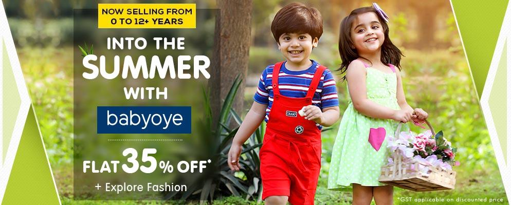 firstcry.com - Get Flat 35% discount on Babyoye Fashion