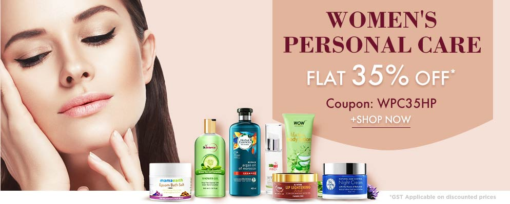 firstcry - 35% Discount on Women's Personal Care Products