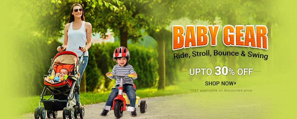 firstcry.com - Upto 30% Discount on Baby Gear