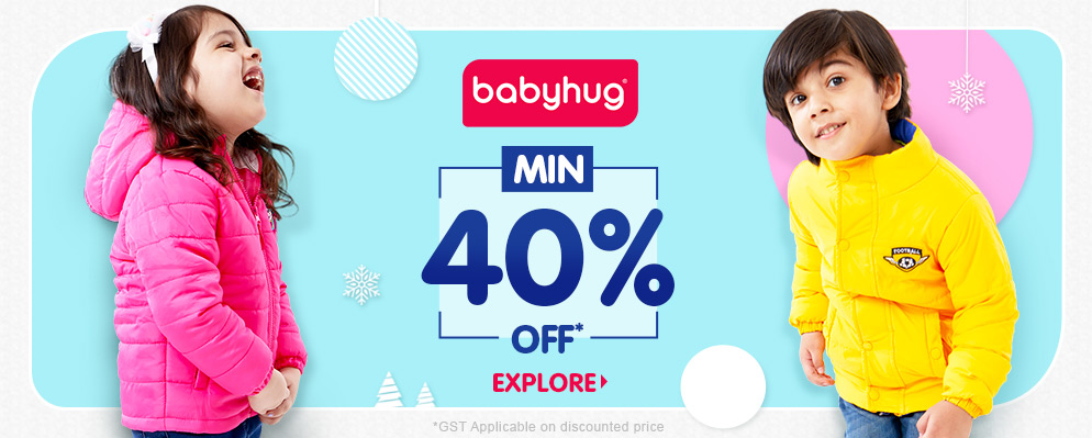firstcry.com - Get Flat 40% off on Kids Fashion