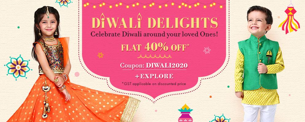 FirstCry.com - Get Flat 40% off on Diwali Collection