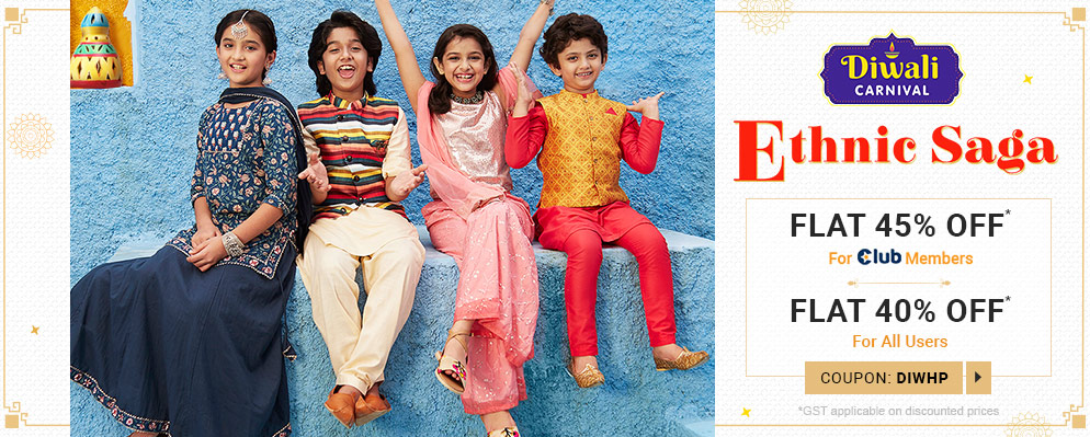 firstcry.com - Flat 40% Discount on Selected Fashion Range