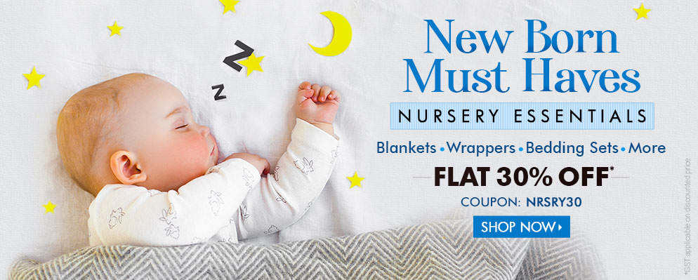 firstcry.com - Avail Flat 30% Discount on Nursery Essentials