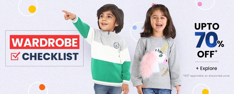 firstcry.com - Upto 70% off on Kids Fashion