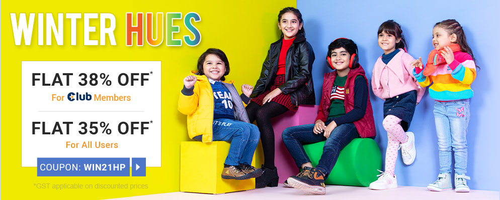 firstcry.com - Avail 35% Off on Selected Fashion Range