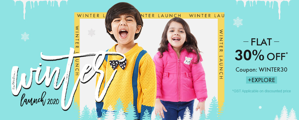 firstcry.com - Avail 30% Discount on Winter Styles