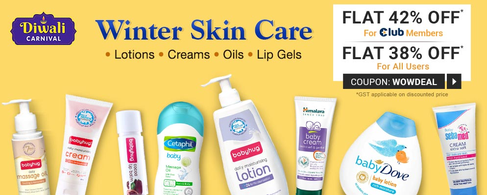 firstcry.com - Avail Flat 38% OFF on most products