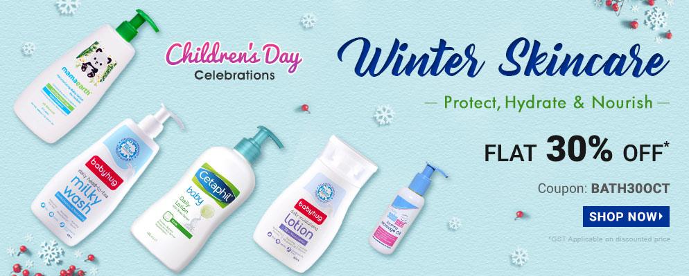 firstcry.com - Get Flat 30% off on Entire Bath & Skin Care