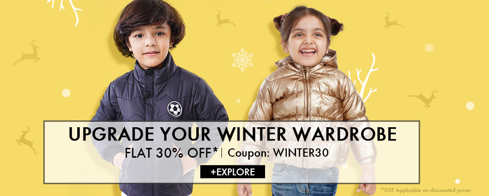 firstcry.com - Get 30% discount on Winter Styles