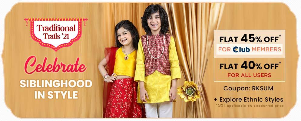 firstcry.com - Get 40% off on Select Kids Fashion