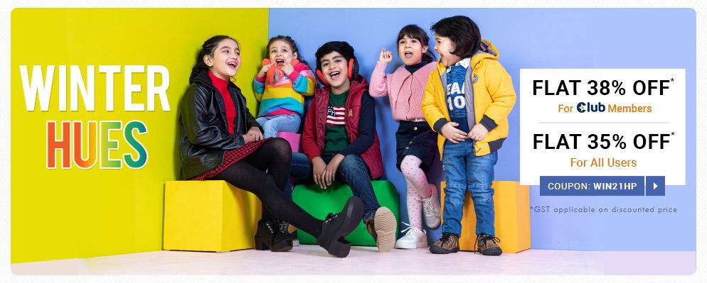 firstcry.com - Avail Flat 38% discount on Select Fashion Range