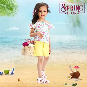 Her Beach Style | 3M - 12Y
