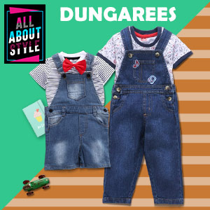 Uninhibited in Dungarees | Up to 10Y