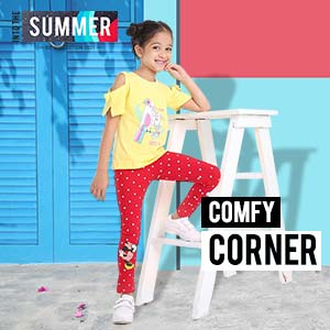 She is Comfortable | 2 - 12+Y