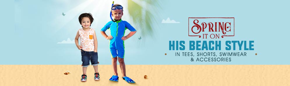 His Beach Style | 3M - 12Y