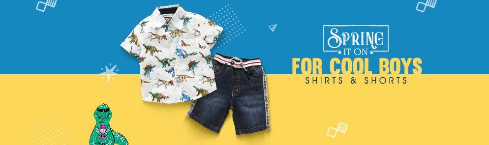 For Cool Boys | 6M - 12Y