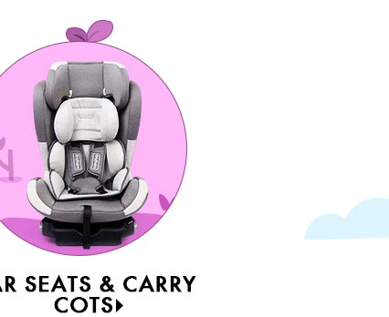 Car Seats & Carry Cots