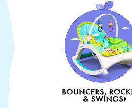 Bouncers, Rockers & Swings