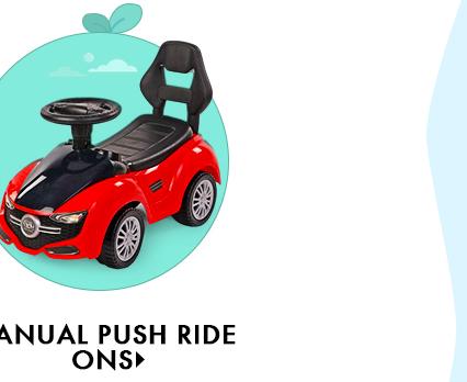 Manual Push Ride Ons