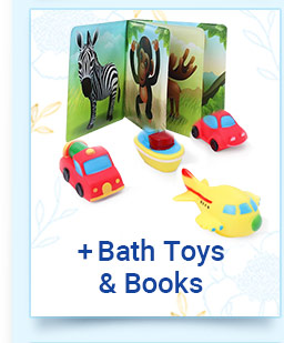 Bath toys & Books