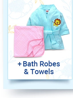 Bath Robes & Towels